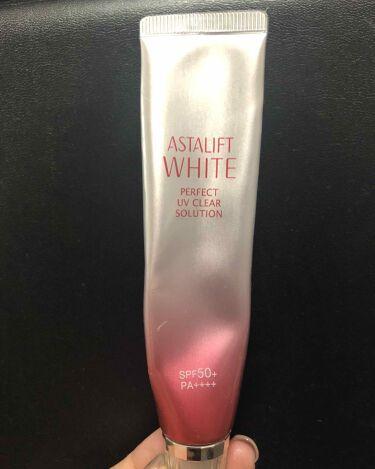 アスタリフトホワイト パーフェクトUV クリアソリューション/アスタリフト/化粧下地を使ったクチコミ(1枚目)