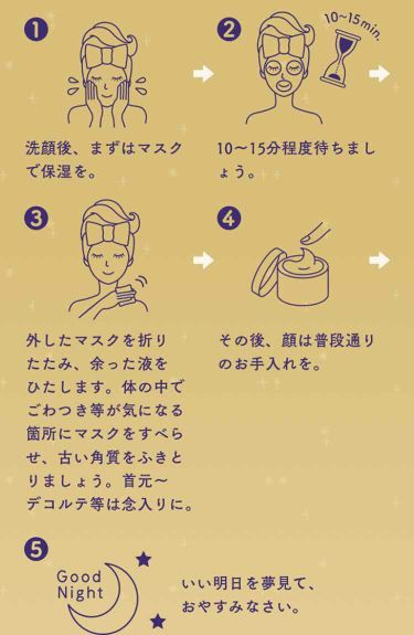 ルルルンワンナイト 大人レスキュー 角質オフ/ルルルン/パック・フェイスマスクを使ったクチコミ(2枚目)
