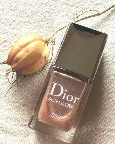 ディオール ヴェルニ サン グロウ/Dior/マニキュアを使ったクチコミ(1枚目)