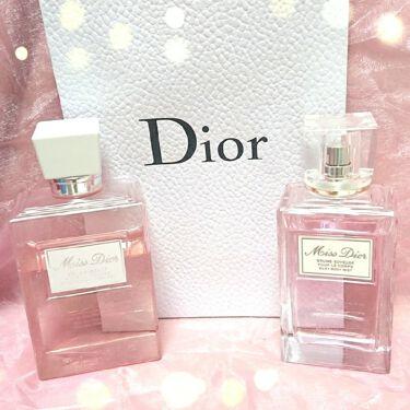 ミス ディオール シルキー ボディ ミスト/Dior/ボディローションを使ったクチコミ(2枚目)