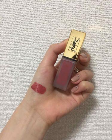 タトワージュ クチュール/YVES SAINT LAURENT BEAUTE/口紅を使ったクチコミ(1枚目)