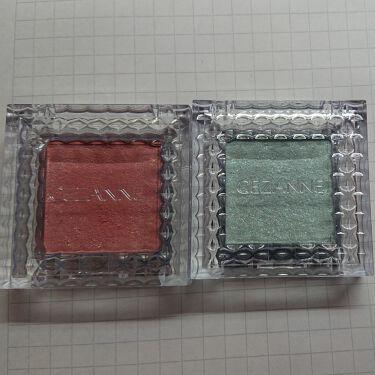 シングルカラーアイシャドウ/CEZANNE/パウダーアイシャドウを使ったクチコミ(1枚目)