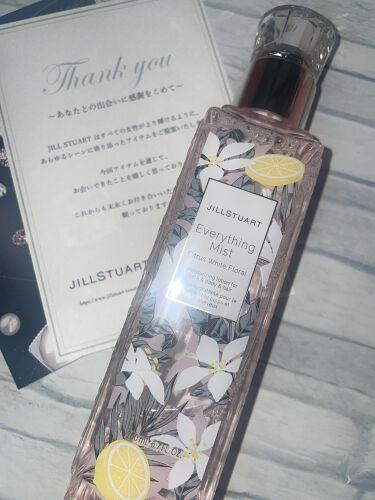 エブリシングミスト シトラス ホワイトフローラル/JILL STUART/ミスト状化粧水を使ったクチコミ(1枚目)
