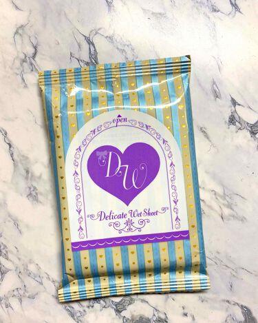 ソフィ デリケートウェットシート フレッシュフローラルの香り/ソフィ/デオドラント・制汗剤を使ったクチコミ(2枚目)