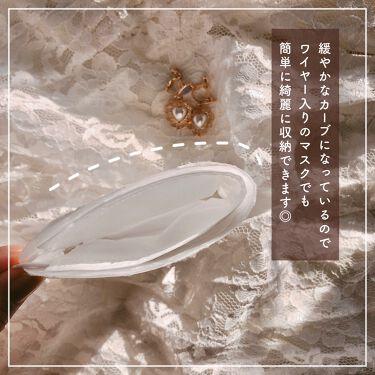 バック風マスクカバー(レース)/DAISO/その他を使ったクチコミ(3枚目)