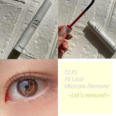 キルラッシュマスカラリムーバー/CLIO/ポイントメイクリムーバーを使ったクチコミ(1枚目)