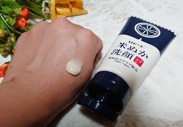 江戸こすめ 米ぬか洗顔/ロゼット/洗顔フォームを使ったクチコミ(3枚目)