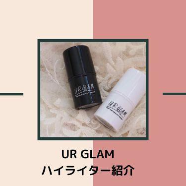 UR GLAM FACE GLOSS STICK(グロススティック)/DAISO/ジェル・クリームチークを使ったクチコミ(1枚目)