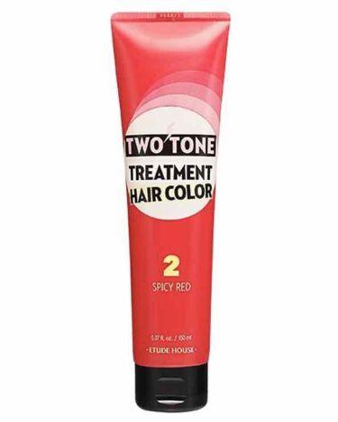 2トーン トリートメントヘアカラー/ETUDE/ヘアカラー・白髪染め・ブリーチを使ったクチコミ(2枚目)