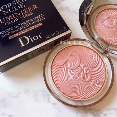 ディオールスキン ミネラル ヌード ルミナイザー パウダー<グロウ バイブス>/Dior/プレストパウダーを使ったクチコミ(1枚目)