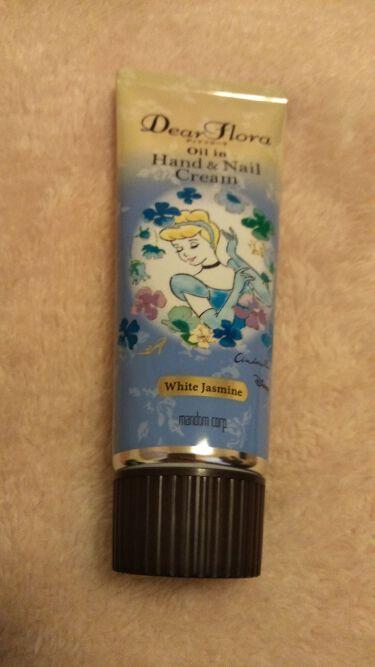 マンダム ディアフローラ オイルイン ハンド&ネイルクリーム ホワイトジャスミン/マンダム/ハンドクリーム・ケアを使ったクチコミ(1枚目)