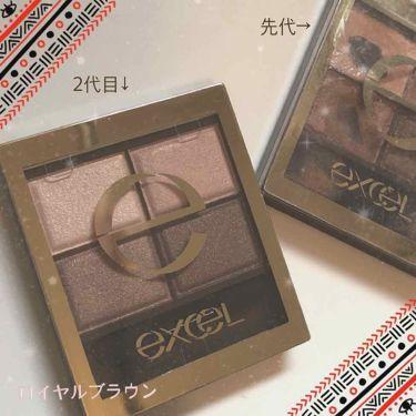 33_chanさんの「エクセルスキニーリッチシャドウ<パウダーアイシャドウ>」を含むクチコミ