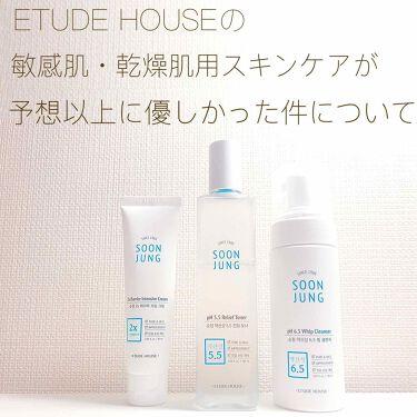 スンジョン トナー/ETUDE HOUSE/化粧水を使ったクチコミ(1枚目)