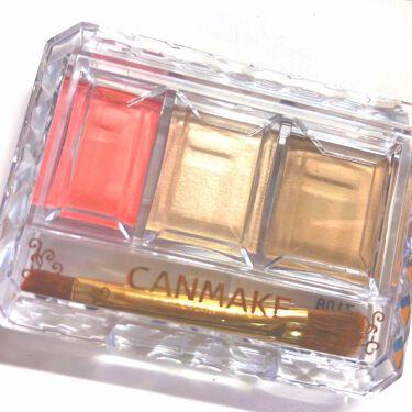 シークレットカラーアイズ/CANMAKE/パウダーアイシャドウを使ったクチコミ(3枚目)