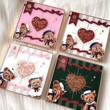 Love Bear 9色 アイシャドウパレット/FlowerKnows/パウダーアイシャドウを使ったクチコミ(9枚目)