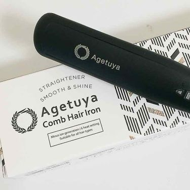 agetuya comb hair iron/その他/ヘアケア美容家電を使ったクチコミ(1枚目)