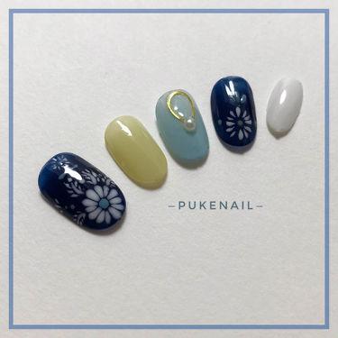 プケネイル 保証あり はなよめ/PUKE NAIL/つけ爪・ネイルチップを使ったクチコミ(3枚目)