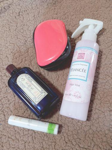 フレグランスヘアミスト ピュアシャンプーの香り/フィアンセ/プレスタイリング・寝ぐせ直しを使ったクチコミ(2枚目)