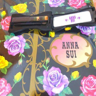 アイブロウ カラー コンパクト/ANNA SUI/パウダーアイブロウを使ったクチコミ(2枚目)