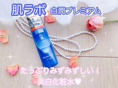 白潤プレミアム薬用浸透美白化粧水/肌ラボ/化粧水を使ったクチコミ(1枚目)