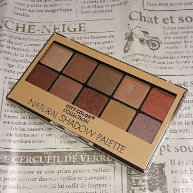 サンキューマート NATURAL SHADOW PALETTE