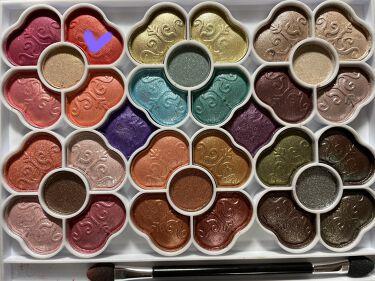 【画像付きクチコミ】#Ruruの備忘録ガッツリpinkメイク!!お家の中でガッツリメイクしたい時にやるpinkメイク。いっぱい重ね塗りするから私だけが楽しい。色味がわかりやすいように使用したパレットはアップで撮ったのでぜひ参考にでも。。。マスカラはお好き...