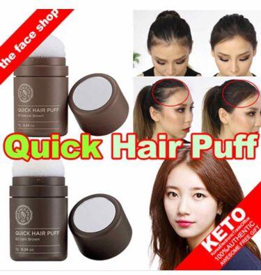 QUICK HAIR PUFF/THE FACE SHOP/頭皮ケアを使ったクチコミ(3枚目)