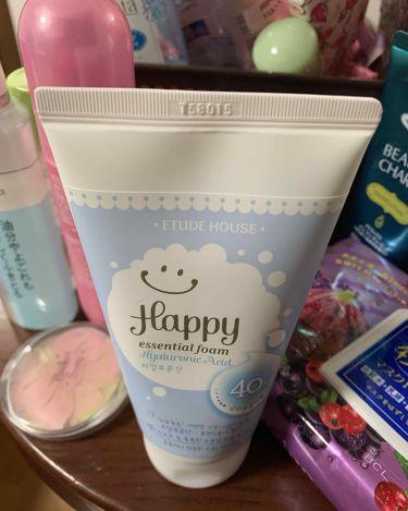ハッピー エッセンシャル フォーム/ETUDE HOUSE/洗顔フォームを使ったクチコミ(1枚目)