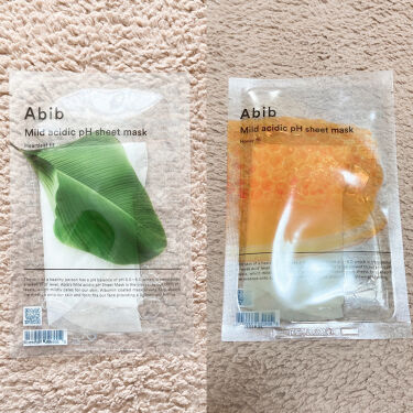 Mild acidic pH sheet mask  Aqua fit/Abib /シートマスク・パックを使ったクチコミ(3枚目)