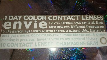 Ayukaさんの「envieenvie アンヴィ カラーコンタクトレンズ<その他>」を含むクチコミ