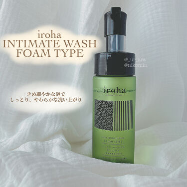 iroha INTIMATE WASH FOAMTYPE/iroha INTIMATE CARE/ボディソープを使ったクチコミ(1枚目)