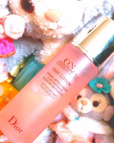 ワン エッセンシャル ミスト ローション/Dior/ミスト状化粧水を使ったクチコミ(1枚目)