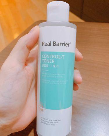 リアルバリアコントロールトナー/その他/化粧水を使ったクチコミ(1枚目)