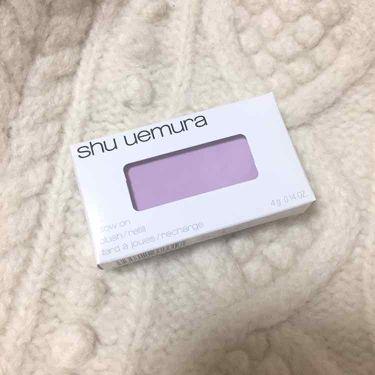 グローオン (レフィル)/shu uemura/パウダーチークを使ったクチコミ(1枚目)