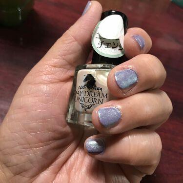 【画像付きクチコミ】先程のパラドゥの紫のネイルに、キャンドゥのニュアンスchange塗ってみました🤣💜💜💜🌟🌟🌟明日仕事だからちょっとこれはダメですね🤣👆‼️休みならいいんですけど😅👍