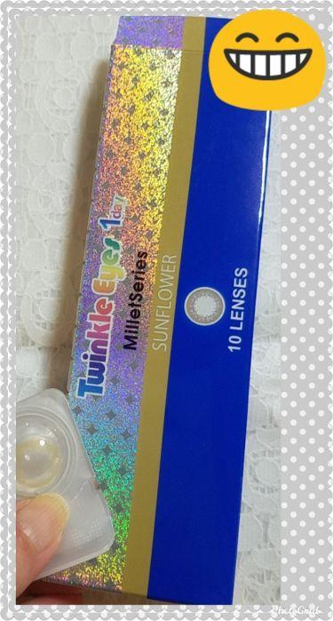 Twinkle Eyes 1day<ミレットシリーズ>/TwinkleEyes/カラーコンタクトレンズを使ったクチコミ(2枚目)