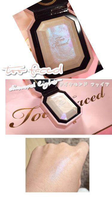 ダイヤモンドライト マルチユース ハイライター/Too Faced/フェイスパウダーを使ったクチコミ(1枚目)