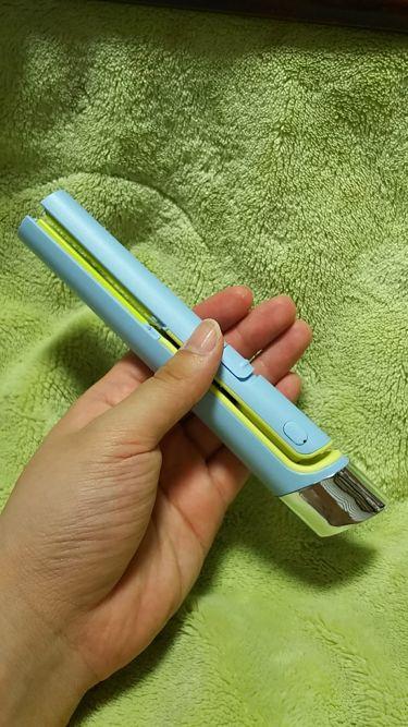 USB SUGAR IRON/コジット/ヘアケア美容家電を使ったクチコミ(2枚目)