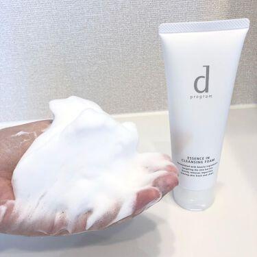エッセンスイン クレンジングフォーム/d プログラム/洗顔フォームを使ったクチコミ(5枚目)