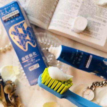 クリアクリーン プレミアム 歯質強化 (薬用ハミガキ)/クリアクリーン/歯磨き粉を使ったクチコミ(3枚目)