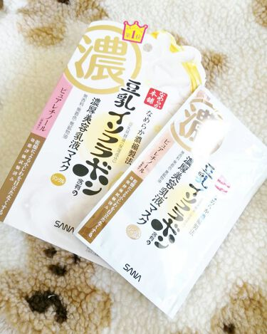 豆乳イソフラボン ジェル美容液マスク/なめらか本舗/シートマスク・パックを使ったクチコミ(2枚目)