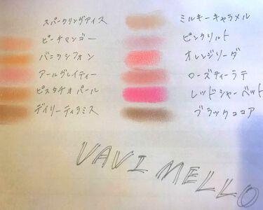 ハートウィンドウリップティントオイルタイプ/VAVI MELLO/リップグロスを使ったクチコミ(3枚目)
