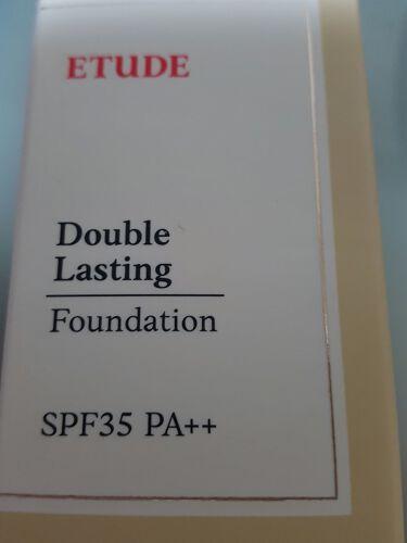 ダブルラスティング ファンデーション/ETUDE/リキッドファンデーションを使ったクチコミ(2枚目)