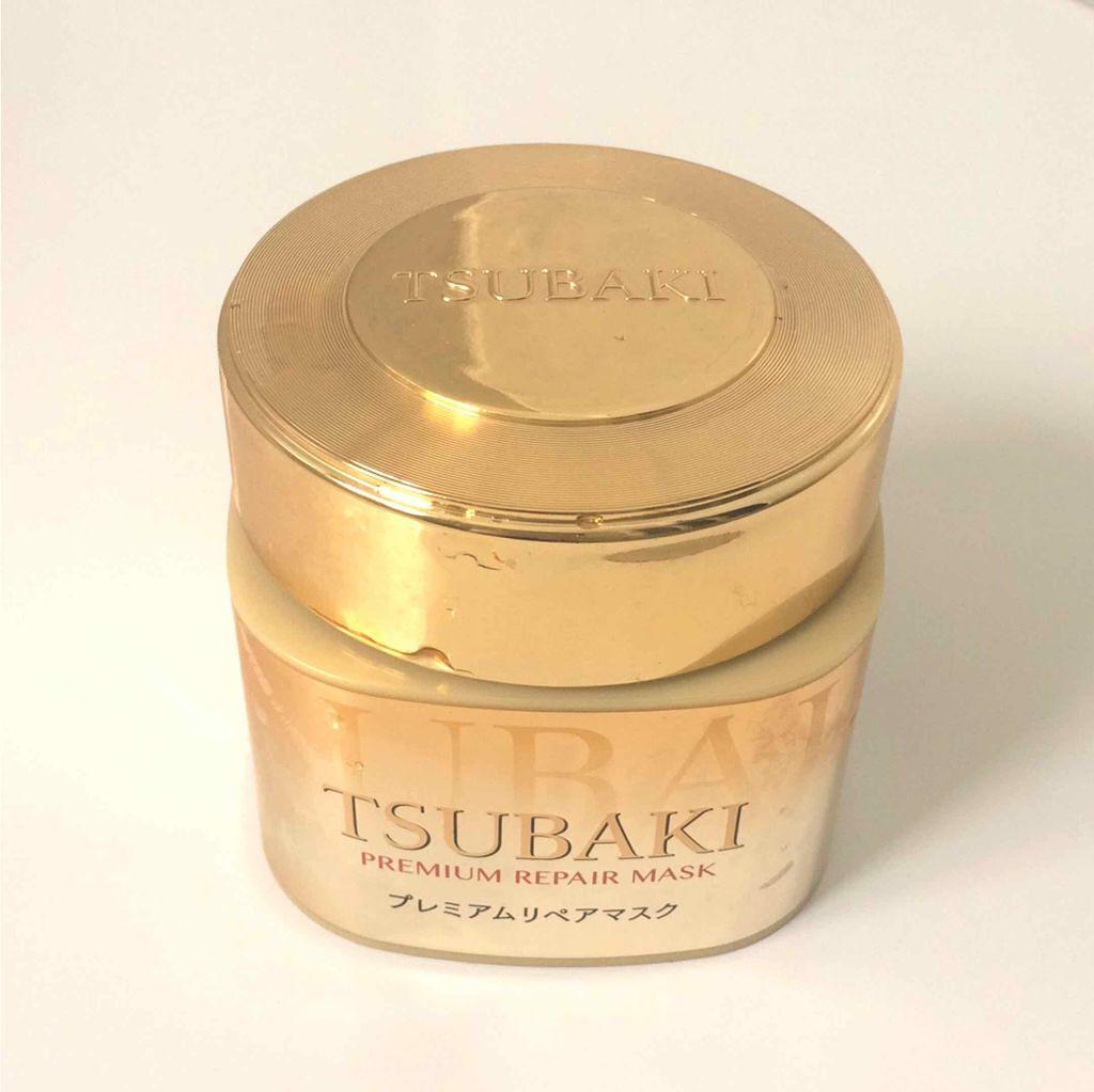 TSUBAKI(思波綺)的金耀瞬護髮膜