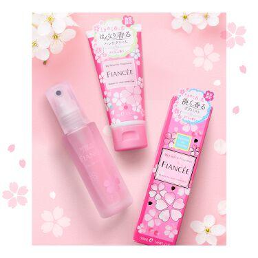 ボディミスト さくらの香り N/フィアンセ/香水(レディース)を使ったクチコミ(2枚目)