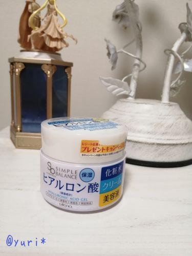 うるおいジェル/シンプルバランス/オールインワン化粧品を使ったクチコミ(1枚目)