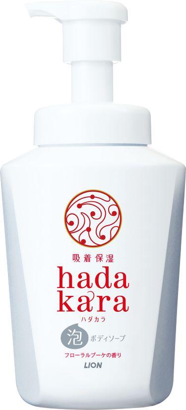 hadakara ボディソープ 泡で出てくるタイプ  フローラルブーケの香り hadakara