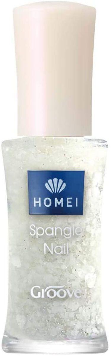 HOMEI スパンコールネイルポリッシュ 17e Snow Angel