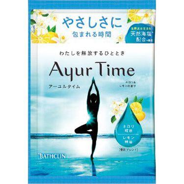 Ayur Time(アーユルタイム) ネロリ&レモンの香り 40g