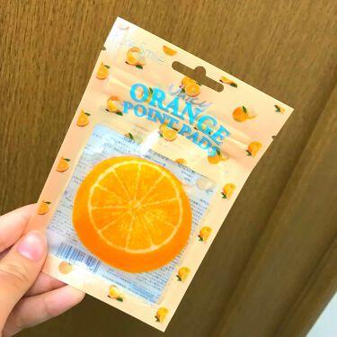 ▼にこまる△さんの「Pure Smile(ピュアスマイル)ジューシーフルーツ ポイントパッド オレンジ<レッグ・フットケア>」を含むクチコミ